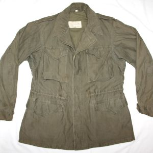 D029. WWII M-1943 COMBAT FIELD JACKET