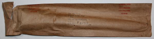 T072. MINT, UNISSUED VIETNAM M-1917 BAYONET SCABBARD FOR THE TRENCH GUN