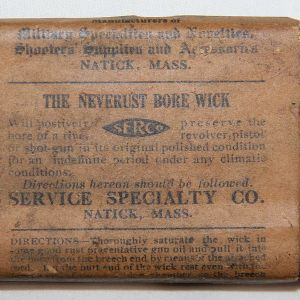 B080. RARE WWI 1903 SPRINGFIELD RIFLE BORE WICK CLEANING KIT