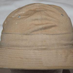 C029. PRE WWII KHAKI DAISY MAE FATIGUE CAP