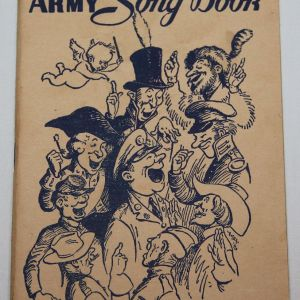 J034. WWII ARMY SONG BOOK