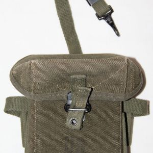 T090. EARLY VIETNAM FIRST PATTERN UNIVERSAL AMMUNITION POUCH