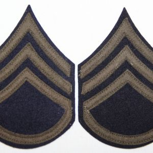 G090. WWII FELT ON FELT STAFF SERGEANT STRIPES