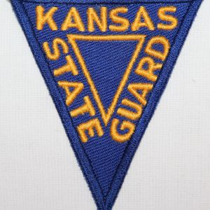 G089. WWII KANSAS STATE GUARD PATCH