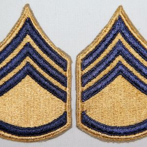 S046. KOREAN WAR COMBAT SERGEANT CHEVRONS