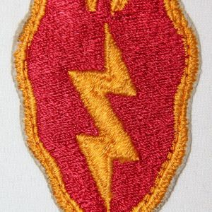 T094. EARLY VIETNAM 25TH INFANTRY DIVISION PATCH
