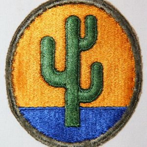 G098. WWII 103RD INFANTRY DIVISION PATCH