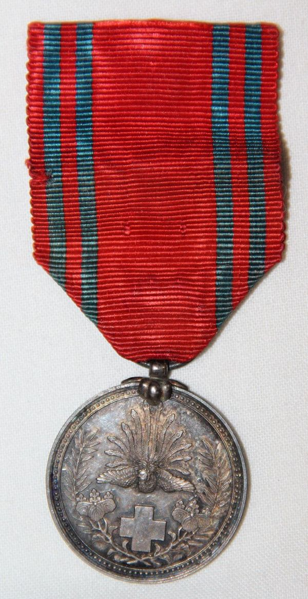 Q038. WWII JAPANESE RED CROSS MEDAL