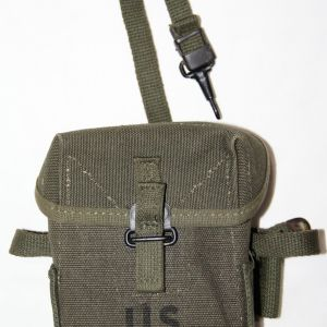 T107. UNISSUED VIETNAM SMALL ARMS AMMUNITION POUCH
