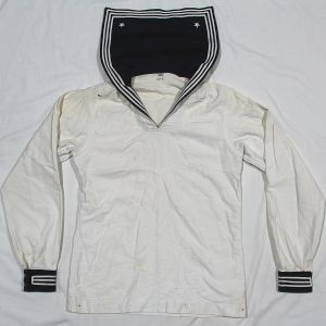 D038. PRE WWII USN DRESS WHITE JUMPER UNIFORM