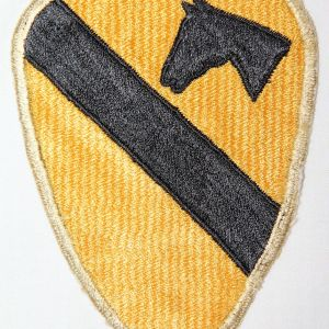 G117. POST WWII JAPANESE MADE FIRST CAVALRY DIVISION PATCH