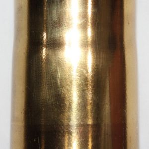 M033. INERT WWII JAPANESE 70MM CARTRIDGE CASE FOR TYPE 92 HOWITZER
