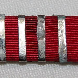 I036. WWII AMERICAN RED CROSS SERVICE RIBBON WITH 2000 VOLUNTEER HOURS