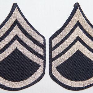 G129. WWII STAFF SERGEANT CHEVRONS