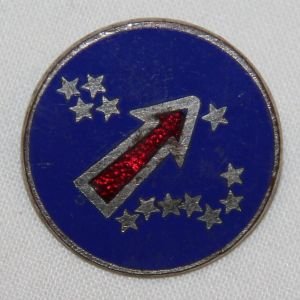 H061. WWII PACIFIC OCEAN AREAS DISTINCTIVE UNIT INSIGNIA PIN