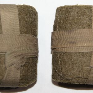 B146. WWI DOUGHBOY WOOL LEG WRAP PUTTEES