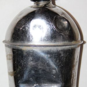 E171. VARIATION WWII CANTEEN WITH BRIGHT FINISH