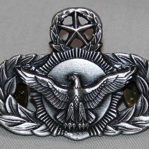 U029. USAF MASTER SECURITY POLICE QUALIFICATION BADGE