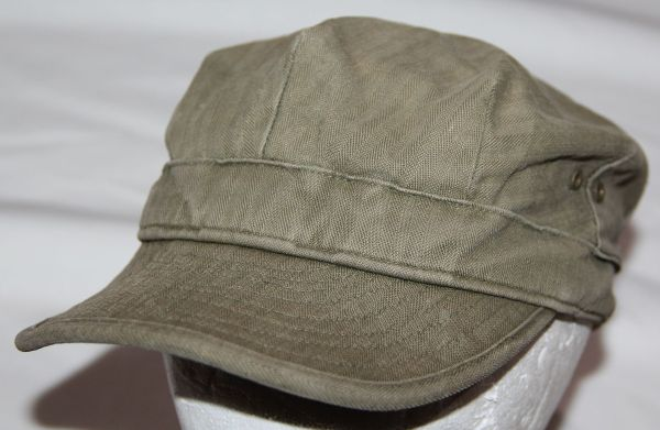 C047. WWII HBT COMBAT FIELD CAP