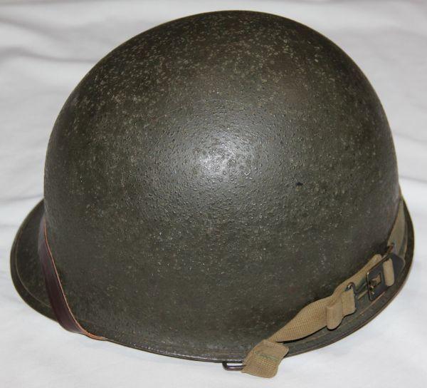C049. LATE WWII M1 HELMET SET