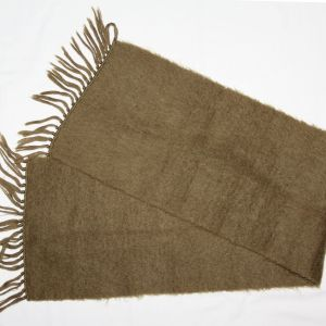 D063. WWII WOOL WINTER SCARF