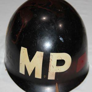 T161. VIETNAM 1ST CAVALRY 545TH MILITARY POLICE M1 HELMET LINER