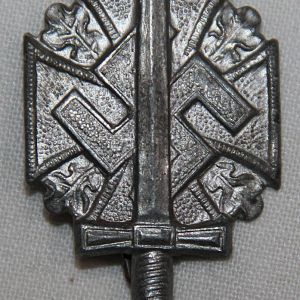 P094. WWII GERMAN NSKOV DONATION PIN