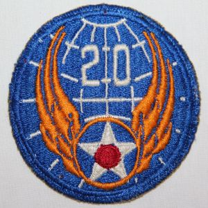 G133. WWII 20TH ARMY AIR FORCE PATCH