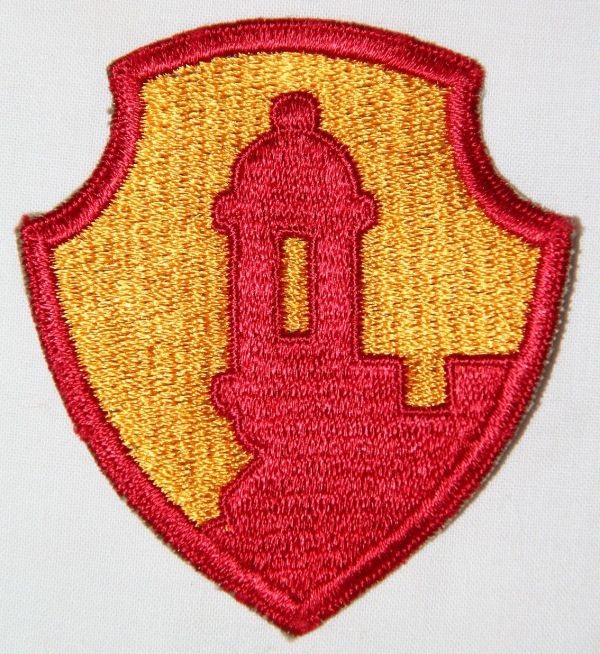 G135. WWII ANTILLES DEPARTMENT PATCH