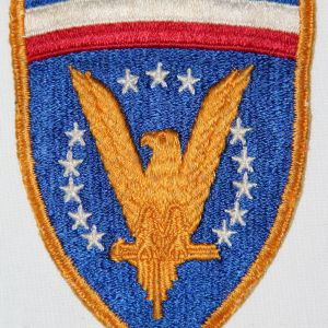 G136. WWII HQ ETOUSA THIRD DESIGN PATCH