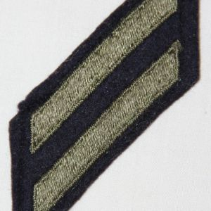 G144. 2 WWII UNIFORM SERVICE STRIPES