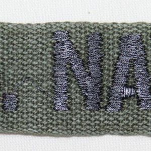 T187. VIETNAM THEATER MADE US NAVY UNIFORM TAPE