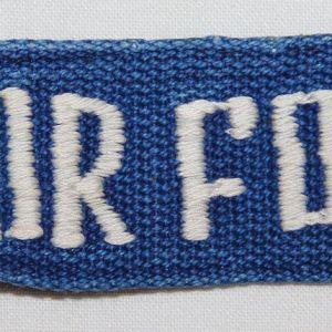 T188. VIETNAM THEATER MADE USAF UNIFORM TAPE
