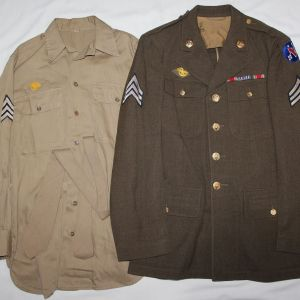 D084. WWII PACIFIC OCEAN AREAS UNIFORM GROUP