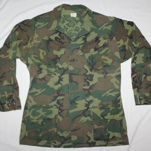 T207. VIETNAM ERDL CAMOUFLAGE JUNGLE JACKET