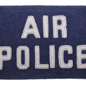 T208. VIETNAM ERA USAF AIR POLICE ARMBAND BRASSARD
