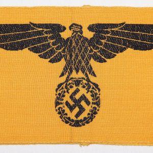 O.122. WWII GERMAN STATE SERVICE ARMBAND