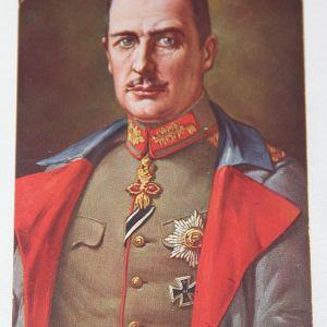B203. WWI GERMAN FELDPOST POSTCARD OF HERZOG ALBRECHT DUKE OF WURTTEMBERG