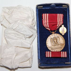 H087. WWII GOOD CONDUCT MEDAL SET