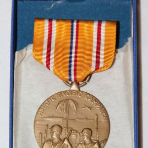H121. WWII ASIATIC-PACIFIC THEATER CAMPAIGN MEDAL NEW IN BOX