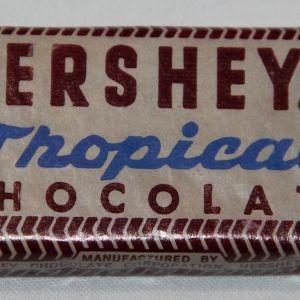 S117. MINT KOREAN WAR HERSHEY'S TROPICAL CHOCOLATE RATION BAR