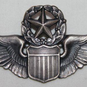 "S113. COLD WAR USAF 3"" MASTER PILOT WINGS"