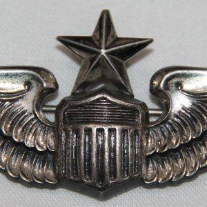 """S114. COLD WAR USAF 3"""" MEYER SENIOR PILOT WINGS"""