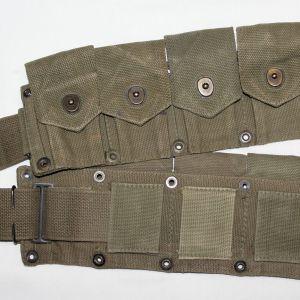 S116. KOREAN WAR 1950 DATED 10 POCKET CARTRIDGE BELT