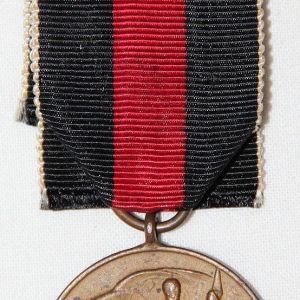 Q058. WWII GERMAN ANNEXATION OF SUDETENLAND MEDAL