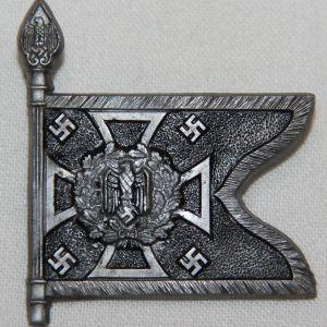 P102. WWII GERMAN WHW PIONEER STANDARTE TINNIE