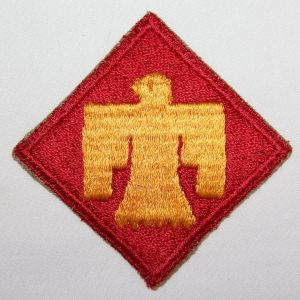 G175. WWII 45TH INFANTRY DIVISION PATCH