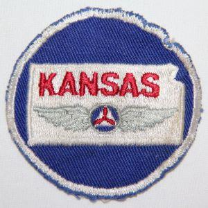 S122. 1950'S KANSAS CIVIL AIR PATROL PATCH
