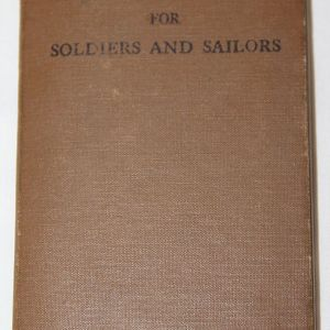 J084. WWII 1941 PRAYER BOOK FOR SOLDIERS AND SAILORS