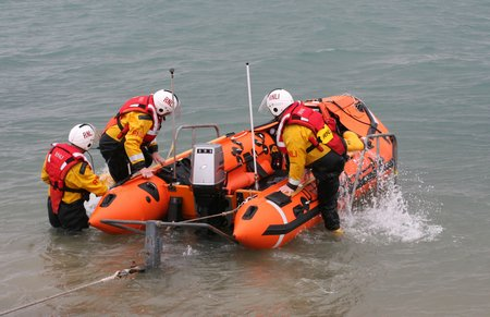 Portsmouth Lifeboats Launched To Assist Grounded Sailing
